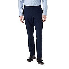 Burton - Skinny fit navy tipped formal trousers