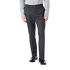 Burton - Skinny fit charcoal puppytooth formal trouser