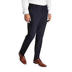 Burton - Navy slim fit essential formal trousers