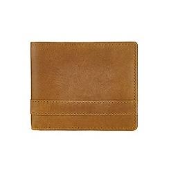 Burton - Tan bifold wallet