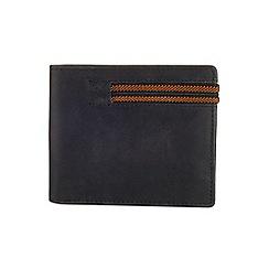 Burton - Black bifold strap wallet