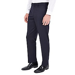 Burton - Navy regular fit formal trousers
