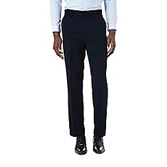 Burton - Regular fit navy formal trousers