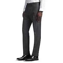 Burton - Slim fit grey flecked formal trousers