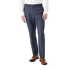 Burton - Slim fit chambray formal trousers