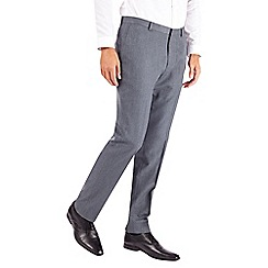 Burton - Blue slim fit steel fine design trousers