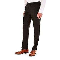Burton - Black pin stripe slim fit formal trousers