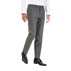 Burton - Grey slim fit essential trousers