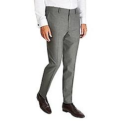 Burton - Montague burton grey slim fit trousers