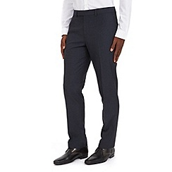 Burton - Navy stripe tailored fit formal trousers