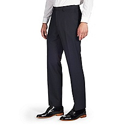 Burton - Tailored fit navy stripe formal trouser