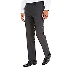 Burton - Charcoal tailored fit trousers