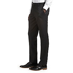 Burton - Tailored fit charcoal trousers