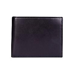 Burton - Black bi-fold wallet