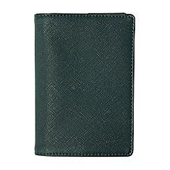 Burton - Textured green passport holder