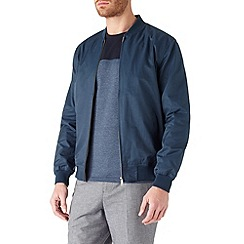 Burton - Blue lightweight bomber jacket