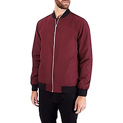 Burton - Red bomber jacket