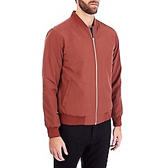 Burton - Brick red bomber jacket