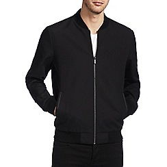 Burton - Smart black shower resistant bomber jacket