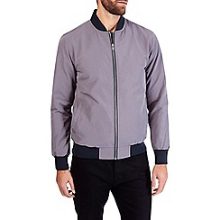 Burton - Mid grey bomber jacket