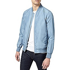 Burton - Light blue lightweight bomber jacket