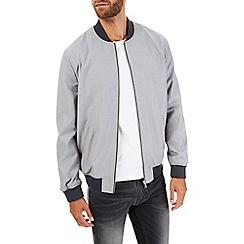 Burton - Grey smart bomber jacket