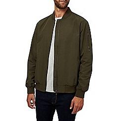 Burton - Khaki bomber jacket