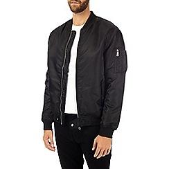 Burton - Black ma1 bomber jacket