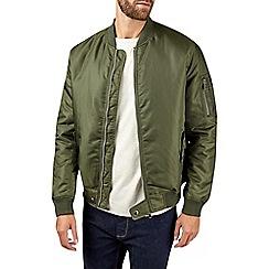 Burton - Khaki ma1 bomber jacket