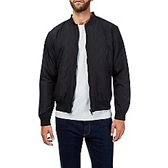 Burton - Black lightweight quilted bomber jacket