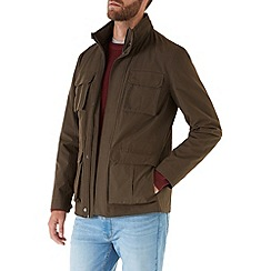 Burton - Khaki four pocket jacket
