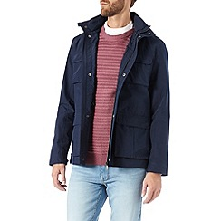 Burton - Navy four pocket jacket