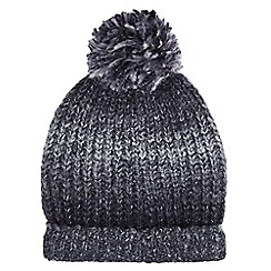 Burton - Grey ombre bobble hat
