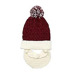Burton - Santa novelty bobble hat