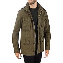 Burton - Khaki four pocket jacket
