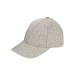 Burton - Light grey smart baseball cap