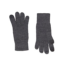 Burton - Grey touchscreen technology gloves