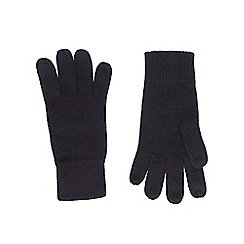 Burton - Navy touchscreen technology gloves