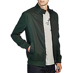 Burton - Dark green harrington jacket