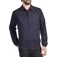 Burton - Navy harrington jacket