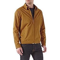 Burton - Brown shirt collar harrington jacket