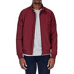 Burton - Burgundy raglan harrington jacket