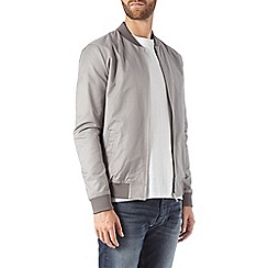 Burton - Grey lightweight bomber jacket