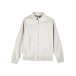 Burton - Grey raglan Harrington jacket