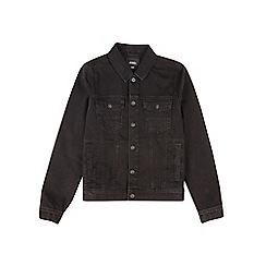 Burton - Black Harrington denim jacket
