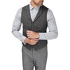 Burton - Montague burton grey donegal waistcoat