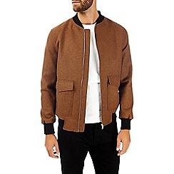 Burton - Ginger wool bomber jacket