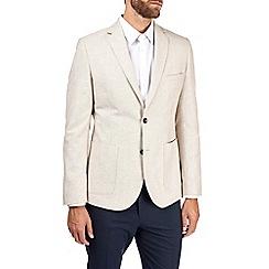 Burton - Stone linen blend blazer