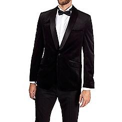 Burton - Black velvet blazer