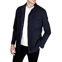 Burton - Navy four pocket jacket